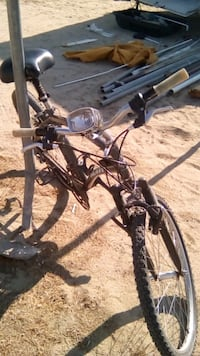 black and gray full-suspension bike Palmdale, 93591
