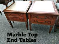 Marble Top End Tables Norfolk, 23503