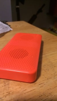 red and black portable speaker Halifax, B3Z 1C3