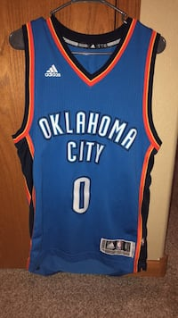 Russell Westbrook Adult S Jersey Sioux Falls, 57108
