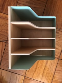 Turquoise file for desk Washington, 20005