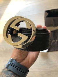 GUCCI DOUBLE G GOLD MENS BELT $300.00 Toronto, M5S 3L6