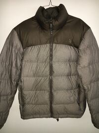 The North Face Grey Nuptse 2 Puffer Jacket - Size Large Cambridge, N1P 1H7