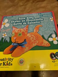 Sock Kitty Sewing Kit Bradford West Gwillimbury, L3Z 0G3