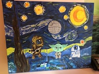 Starry night Star Wars fusion painting Garden Grove, 92843