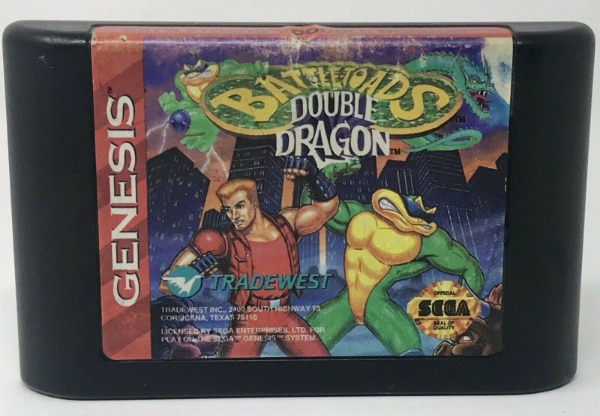 Double Dragon Weapon Gold Blade 1993