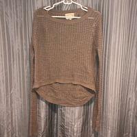 Beige Knitted Sweater Size M Huntington Beach, 92647