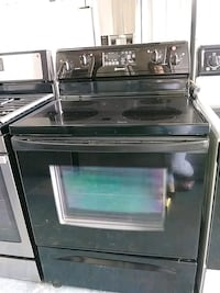 black and gray induction range oven Houston, 77092