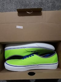 Green/Blue Vans Shoe (Price Firm)