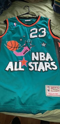 NBA All Stars Michael Jordan Jersey!