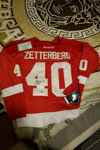 Zetterberg Jersey brand new with authenticity  Kitchener, N2A 2N9