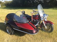 1995 Harley Davidson RoadKing Classic with sidecar Calgary