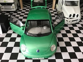 1/18 Volkswagen Beetle Model Araba