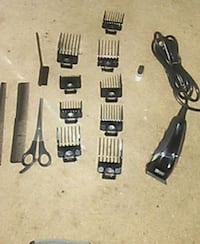 black and gray hair clipper set Union City, 30291