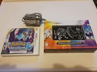 DS sun and moon collection with game and charger. Montréal, H4M 1Z1