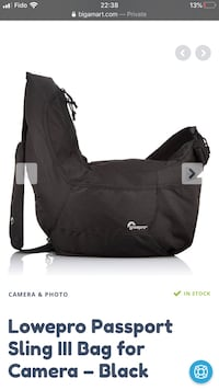Camera Bag Lowepro black sling bag Vancouver, V5N 1L7