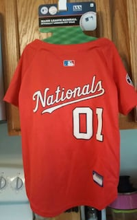 Nationals Jersey for Dogs Size Large Greencastle, 17225