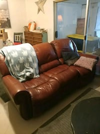 Leather Couch Recliner Fountain Valley, 92708