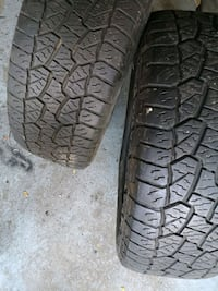 Hankook Dynapro tires x2 2018 Ford F-150 Mississauga
