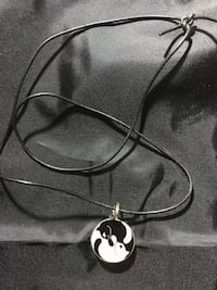 Necklace: Cat Yin Yang
