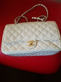 quilted white Chane Surrey, V3T 0B4