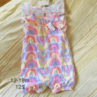 New with tags baby girl 12-18 m prices on pic  Calgary, T3K 6E8