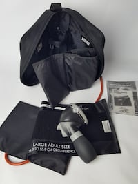 ADC BLOOD PRESSURE PUMP KIT ADULT AND KID CUFF WITH PUMP BAG INSTRUCTIONS HEALTH 585 km