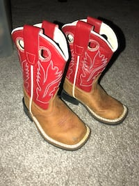 Toddler old west boots 4C Austin, 78758
