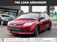 2014 ford focus se with 96,055km and 100% approved financing Toronto