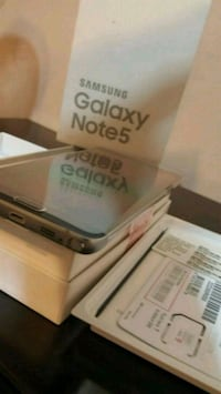 New in box, Samsung Note 5 Suitland-Silver Hill, 20746