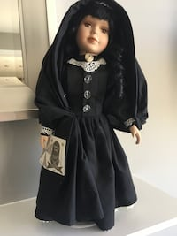 Maltese doll 14 inches high. With stand Brampton, L6V 3B6