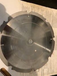 Fiber cement 12 inch blade never used Urbandale, 50322