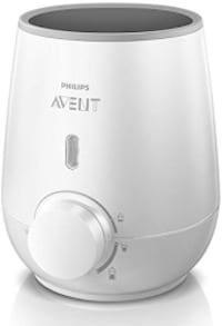 Philips Avent Fast Baby Bottle Warmer (Brand new) Silver Spring