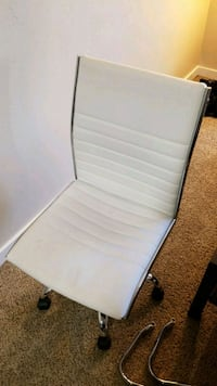 White Leather Desk Chair Emeryville, 94608