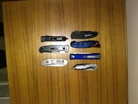 Automatic and blade assist knives. 2332 mi