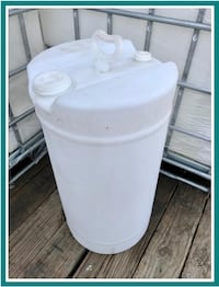 15 Gallon Food Grade Non-Removable Top Barrel