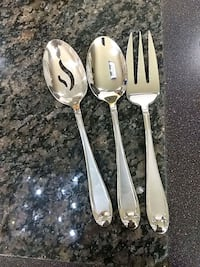 Serving Spoons Antique