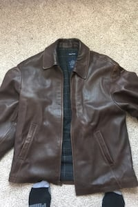Nautical brown leather jacket Albuquerque