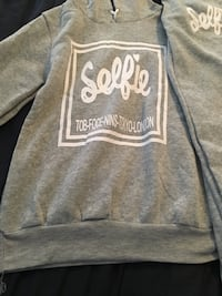 gray and white Aeropostale pullover hoodie Tucker, 30084