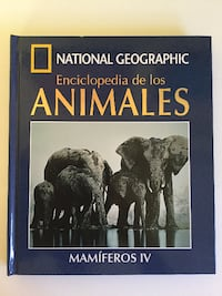 National Geographic Enciclopedia de los Animales Mamíferos IV