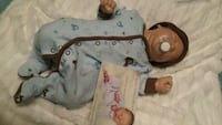 Reborn baby doll Chase by Bonnie Brown Mississauga, L4W 3J8
