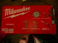 Milwaukee 5 piece tool kit 3748 km