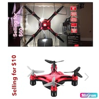 Red and black  drone Pflugerville