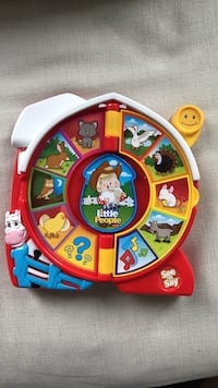 toddler's red, white, and yellow learning toy Markham, L3P 0J9