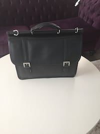 Black leather briefcase Vaughan, L6A 4W3