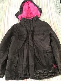 black zip-up bubble jacket Edmonton, T6K