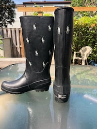 Polo Rain Boots (Boys size 4- women size 6) Derwood, 20855
