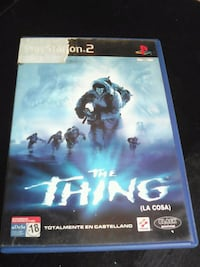 PS2 the thing.la cosa