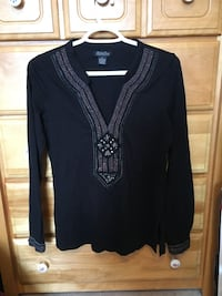 Lucky Brand hippy Black long-sleeved Laval, H7X 3T7