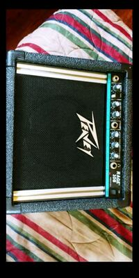 black and white Peavey guitar amplifier Anaheim, 92801